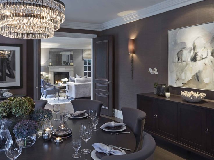 We think this Dining Room is stunning..... note dining chairs