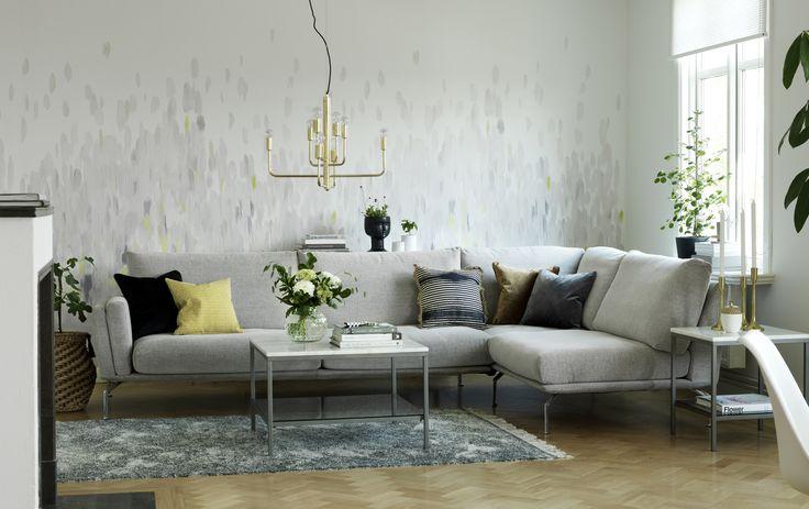 Elegant och vardags skönt med Form byggbar soffa. Em home
