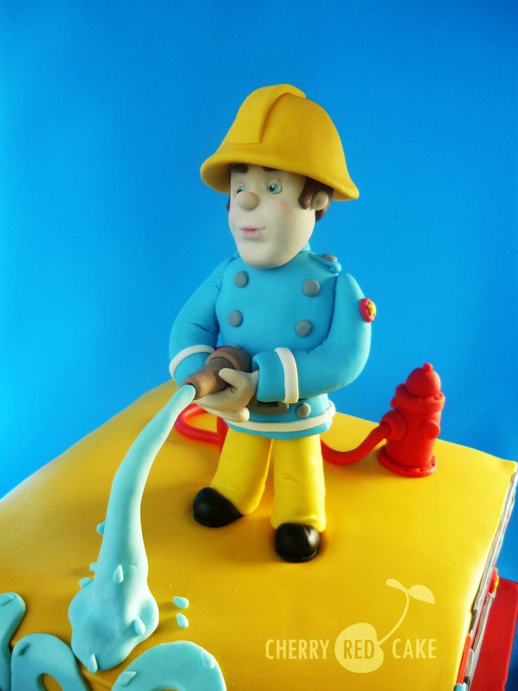 17 Best images about Fireman on Pinterest Fireman cake ...