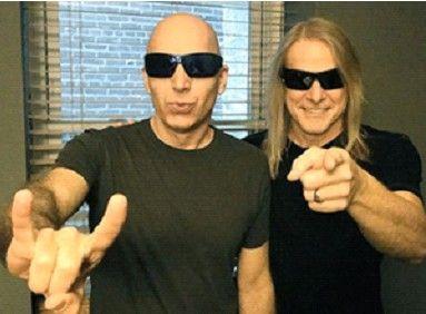 MusicRadar Features Joe Satriani and Steve Morse Podcast