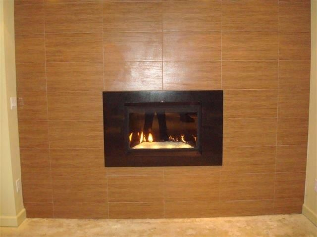 napoleon crystallo with custom surround by rettinger fireplace systems - Napoleon Fireplaces