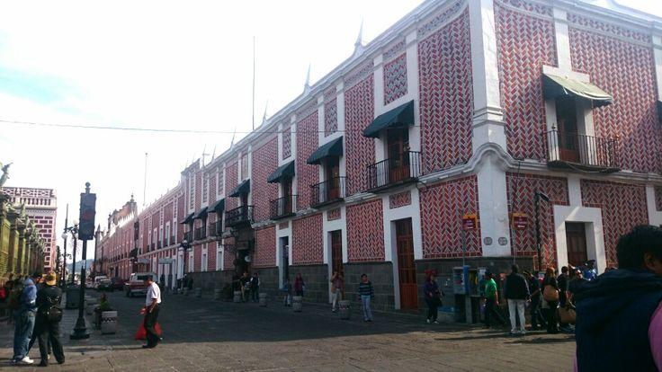 Puebla. Ciudad virreinal. Centro histórico. México.