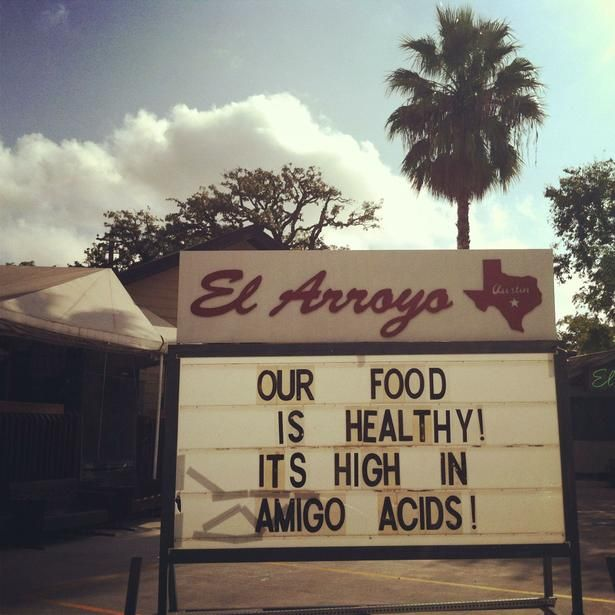 Arroyo Restaurant Austin Tx Sign