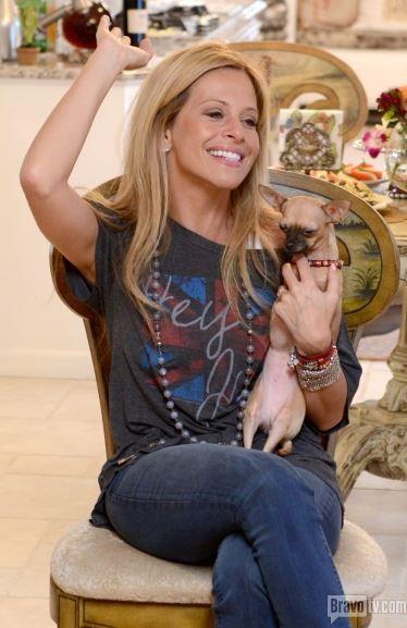 Dina Manzo's Grey Hey Jude T-Shirt | Big Blonde Hair : Big Blonde Hair http://www.bigblondehair.com/real-housewives/rhonj/dina-manzos-grey-hey-jude-t-shirt/