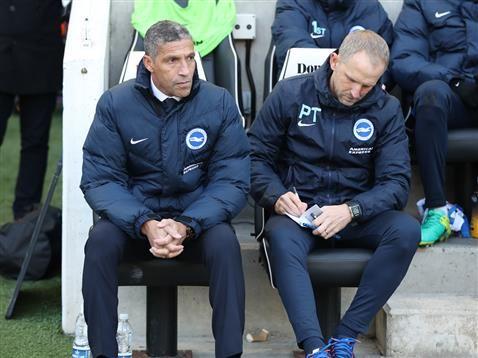 Managers views Chris Hughton and Ian Holloway
