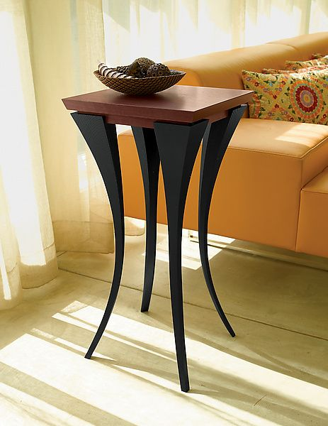 The Violet Table: Michael McCoy: Wood Side Table | Artful Home  $880