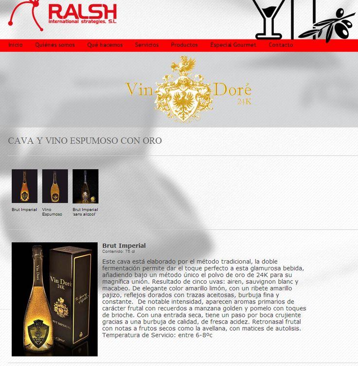 La web Ralsh International recomienda Vin Doré 24K