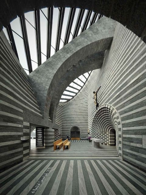 Church by Mario Botta                                                                                                                                                                                 More