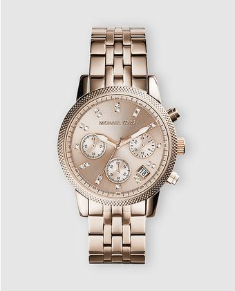 Reloj de mujer Ritz 249€ Michael Kors.