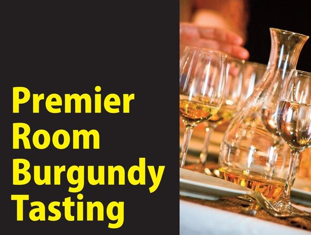 Premier Room Burgundy Tasting   Fitzroy North, VIC