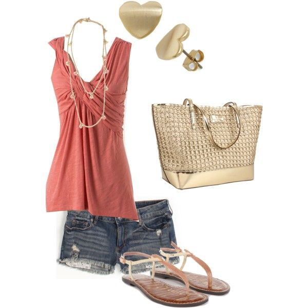 Untitled #184 by blissful11 on Polyvore featuring Bullhead Denim Co., Sam Edelman, Kate Spade and Vivienne Westwood
