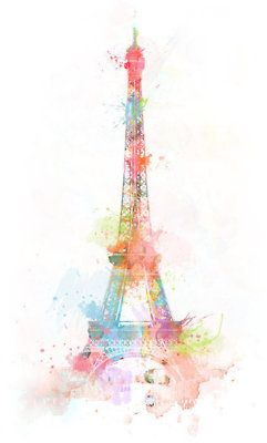 I wanna get the Eiffel Tower done (when I go to Paris) going up my right leg to my knee and also want a water color tattoo so this would be perfect!