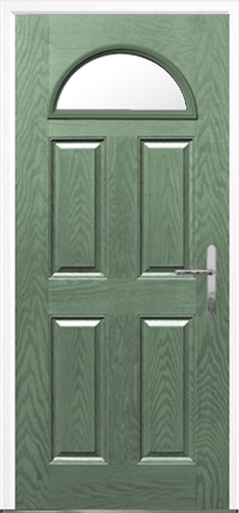 4 Panel 1 Arch Composite front doors fitting and installation by Just Value Doors your local front door specialist & 8 best Front door images on Pinterest | Front doors Front door ... Pezcame.Com