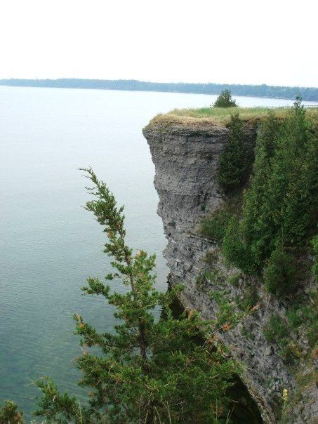 Little Bluff Conservation Area, Prince Edward County, Ontario.