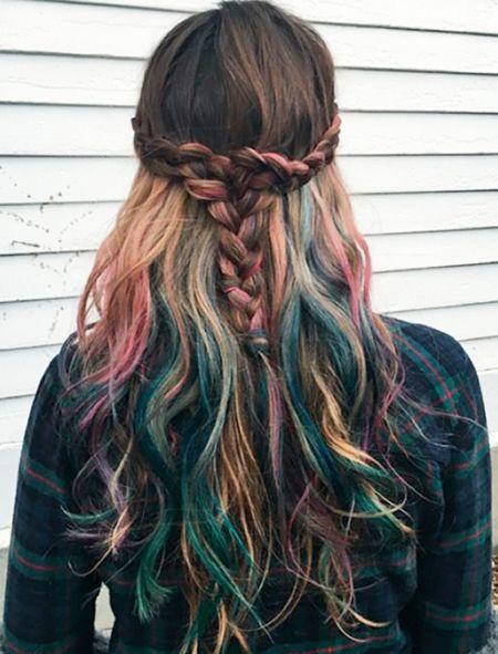 Elegant Multi Hair Color Ideas