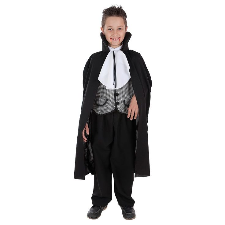 Disfraz Vampiro Vichy Niño