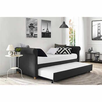 Sophia Grey Daybed with Trundle