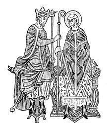 The Investiture Controversy was the most significant conflict between Church and state in medieval Europe. In the 11th and 12th centuries, a series of Popes challenged the authority of European monarchies over control of appointments, or investitures, of church officials such as bishops and abbots. The entire controversy was finally resolved by the Concordat of Worms in 1122.