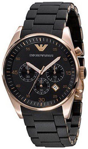 2ec6b14eb57 Emporio Armani Chronograph Mens Watch 5905 GIORGIO ARMANI