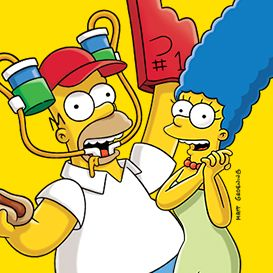 The Simpsons is an American adult animated sitcom created by Matt Groening for the Fox Broadcasting Company.[1][2][3] The series is a satirical depiction of a middle class American lifestyle epitomized by the Simpson family, which consists of Homer, Marge, Bart, Lisa, and Maggie. The show is set in the fictional town of Springfield and parodies American culture, society, television, and many aspects of the human condition.