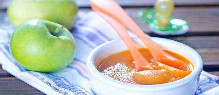 DLA DZIECKA: deser z jabłka i marchewki dla maluszka