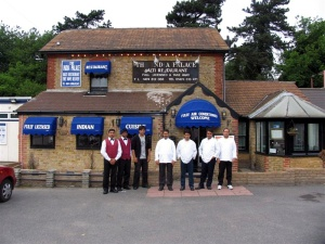 The  India Palace at Meopham Kent great Restaurant well worth a visit