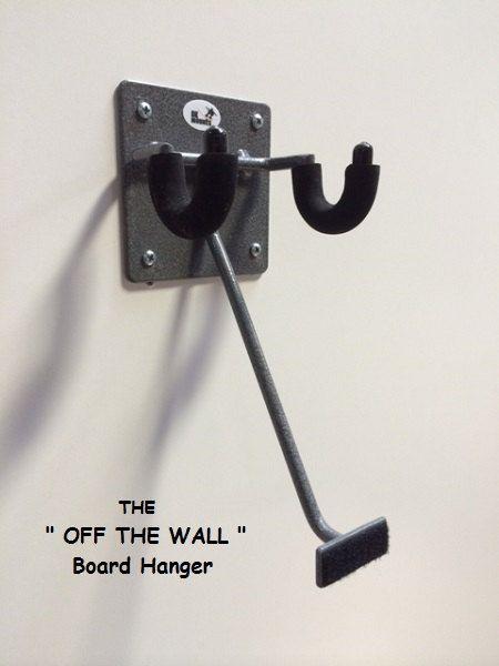 DKMounts Off The Wall Skateboard hanger. The by DKMounts