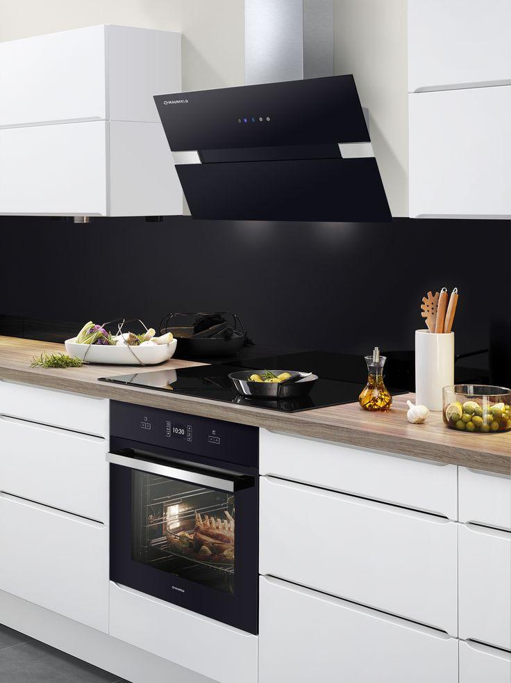 дизайн кухни с наклонной вытяжкой фото покупкой гильзы под