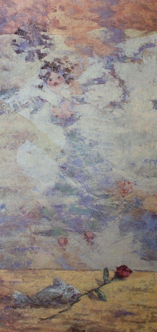 Il pesce innamorato, Giampaolo Talani, http://www.galleria-galp.it/shop/index.php/artisti/giampaolo-talani/il-pesce-innamorato.html