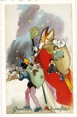 .Sinterklaas en Pieterbaas............lbxxx.