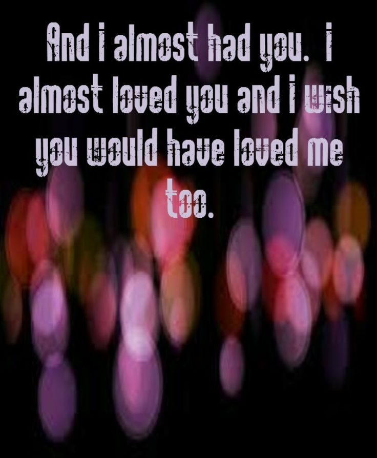 Bowling for Soup - Almost - song lyrics, song quotes, songs, music lyrics, music quotes, music