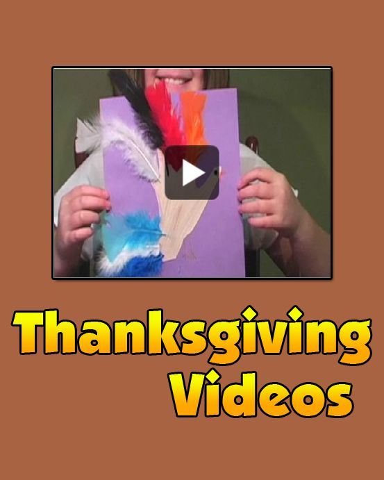 Thanksgiving Videos - Thanksgiving videos for kids. Learn about the history of Thanksgiving. Find out how to make Thanksgiving crafts.