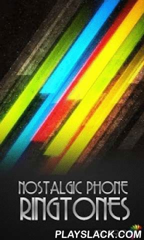 Nostalgic Phone Ringtones  Android App - playslack.com ,  Aura Nostalgic Phone Ringtones*Press and hold on icon for features!Features :*Includes 77 Old Phone and Office Phone ringtones!*Press and hold on icon*Easy to use UI*Set as ringtone, notification, alarm and assign to contacts.Enjoy these digital sounds!