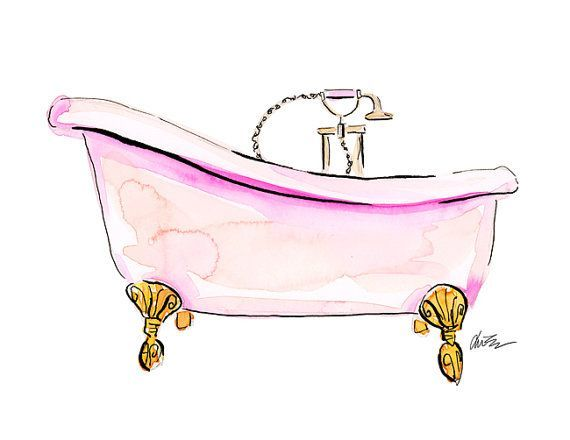 Pin By Michelle Hosking On Claw Tub Beauty Illustration