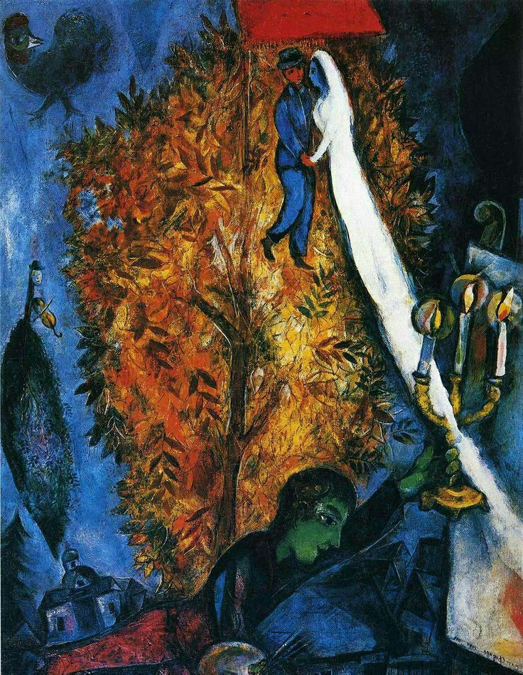 Marc Chagall - 'The Tree of Life'                                                                                                                                                                                 More