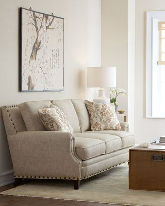 "living room sofa ""Isabella"" Sofa by Massoud at Horchow."
