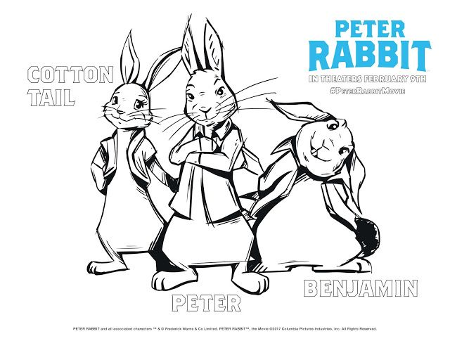 Peter Rabbit Screening: Win Reserved Seats At UA King Of Prussia Peter  Rabbit Movie, Peter Rabbit, Cartoon Coloring Pages