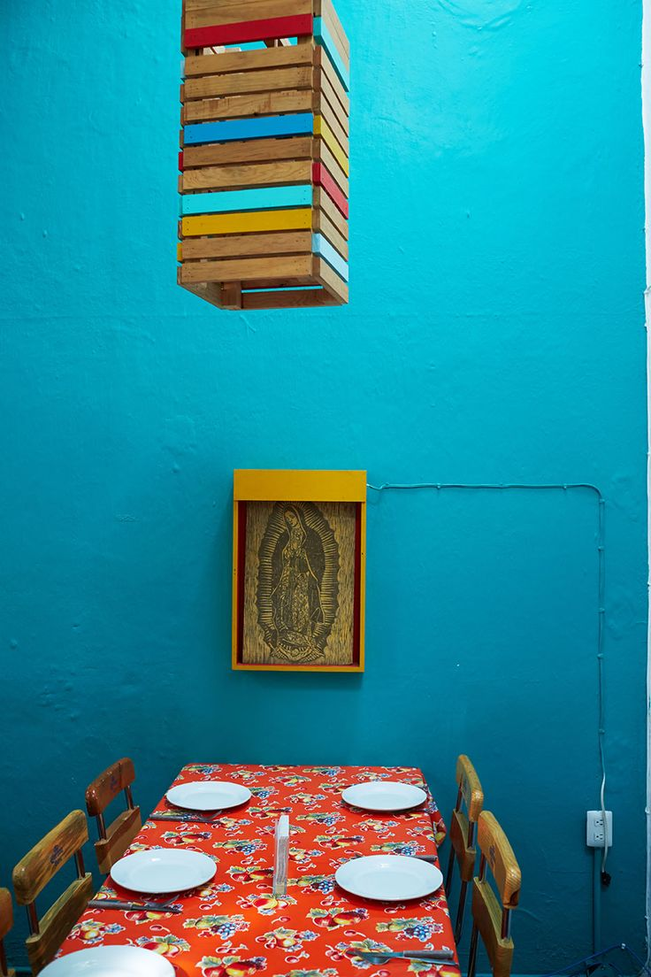 The Zandunga café features cuisine from the Oaxacan isthmus of Tehuantepec.
