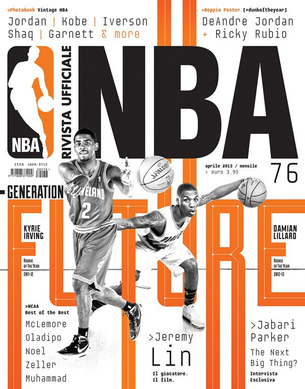 Rivista NBA | Covers 2012 13 by Francesco Poroli