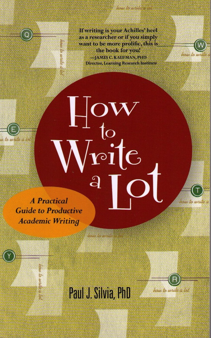 All students and professors need to write, and many struggle to finish their stalled dissertations, journal articles, book chapters, or grant proposals. Writing is hard work and can be difficult to wedge into a frenetic academic schedule. In this practical, lighthearted and encouraging book, Paul J Silvia explains that writing productively doesnot require innate skills or special traits but specific tactics and actions.