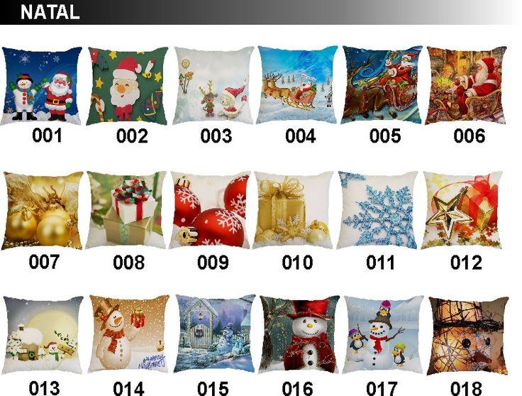 Capa De Almofada Natalina - R$ 14,99 em Mercado Livre