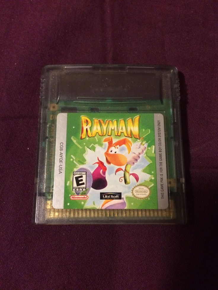 Rayman - Nintendo Gameboy Color - Cartridge Only - Great Condition! | eBay