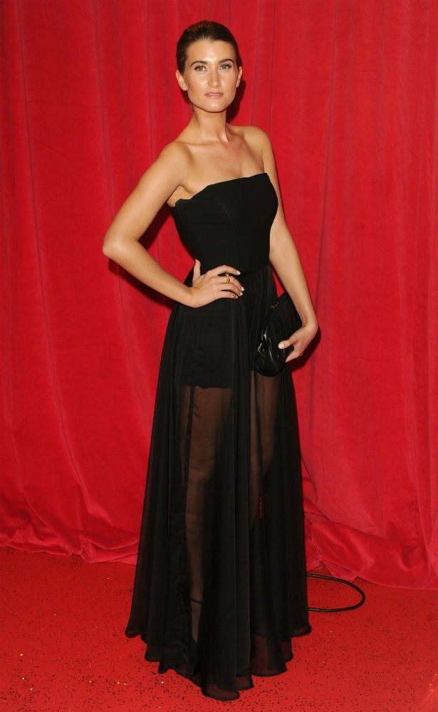 Charley Webb (Debbie) from Emmerdale at the 2014 Soap Awards