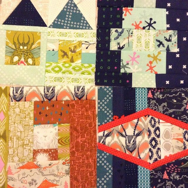 59 best Quilty Goodness: Patchwork City Sampler images on ... : old city quilts - Adamdwight.com