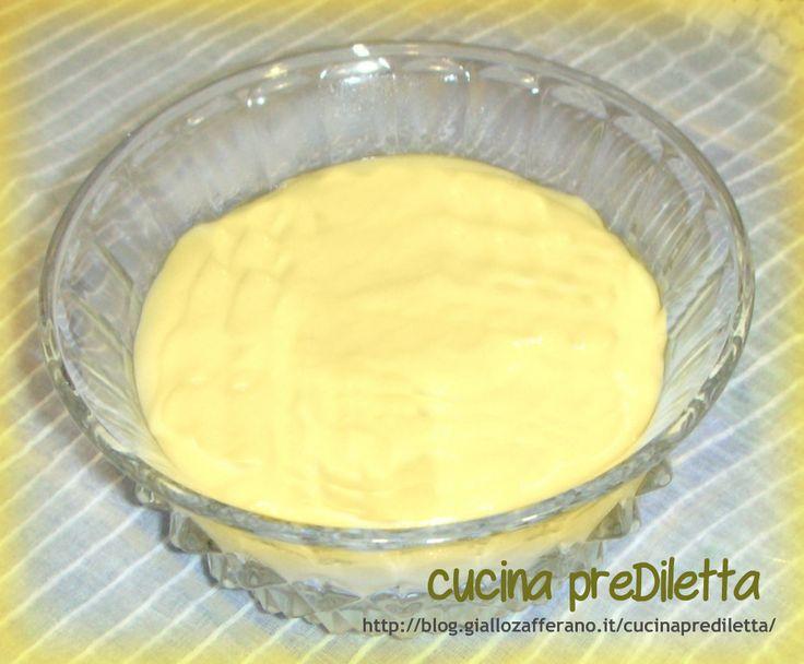 crema pasticcera con poche uova,cucina preDiletta