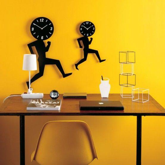 Ρολογια τοίχου από βινύλιο. Ενδιαφέρουσες προτάσεις για όλα τα δωμάτια του σπιτιού, γραφείο, υπνοδωμάτιο, κουζίνα | Small Things