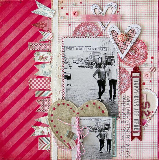 Scrapbook layout....LOVE!