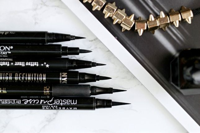 Best liquid pen eyeliners. I'm a huge fan of black eyeliner. It's a staple in anyone's makeup bag. Over the years, I've used pencil, liquid, liquid pen,