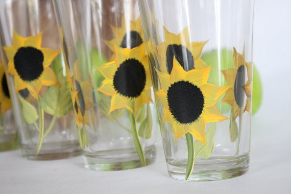 The 25 best sunflower themed kitchen ideas on pinterest for Sunflower kitchen ideas