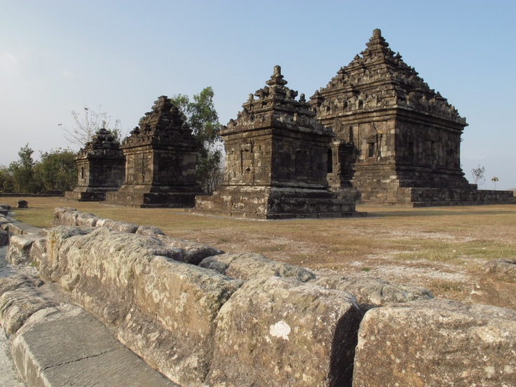 """Candi Ijo, literally translated as """"Green Temple"""". This temple complex is up on a hill overlooking Yogyakarta. Taken in Aug '12"""